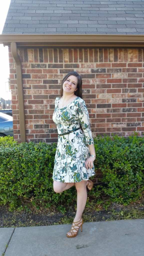 Amanda Renea: Floral Lady Skater Dress