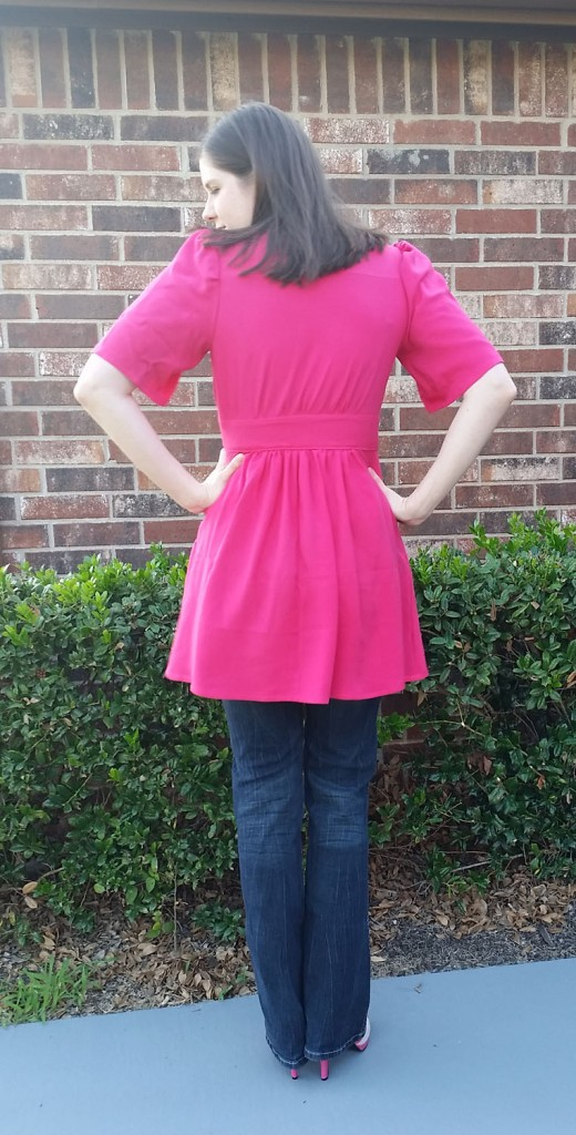 Simplicity 1801 in Rayon Challis