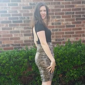 Cheetah Print Senna Skirt